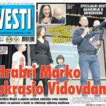 Nezavisni dnevni list Vesti: Priča o hrabrosti i humanosti se nastavlja